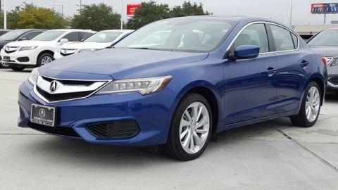Certified Pre-Owned 2017 Acura ILX with Technology Plus Package Front Wheel Drive Sedan