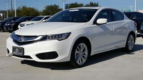 Certified Pre-Owned 2017 Acura ILX with Premium Package Front Wheel Drive 4dr Car