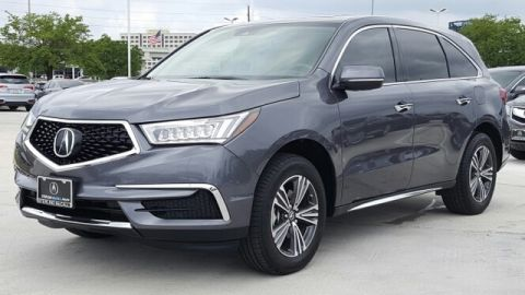 Certified Pre-Owned 2017 Acura MDX Base Front Wheel Drive SUV