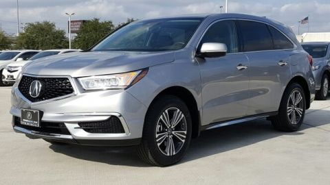 Certified Pre-Owned 2017 Acura MDX Base Front Wheel Drive Sport Utility