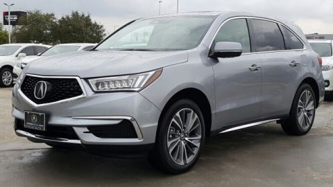 Certified Pre-Owned 2017 Acura MDX with Technology Package Front Wheel Drive Sport Utility