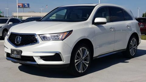 Certified Pre-Owned 2017 Acura MDX with Technology Package Front Wheel Drive SUV