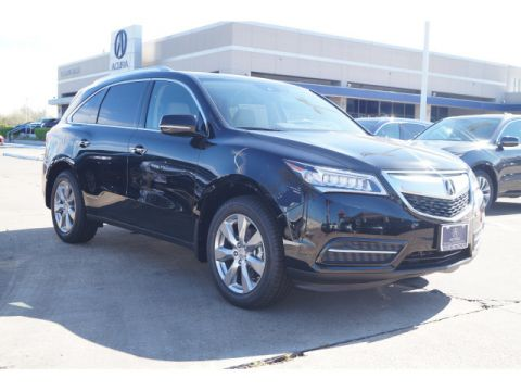 Certified Pre-Owned 2016 Acura MDX w/Advance/Entertainment AWD