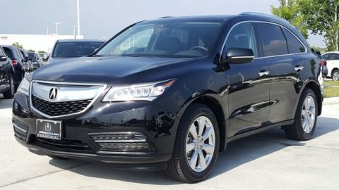 Certified Pre-Owned 2016 Acura MDX SH-AWD with Advance and Entertainment Packages AWD