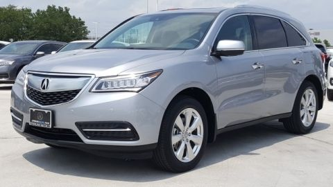 Certified Pre-Owned 2016 Acura MDX SH-AWD with Advance Package AWD
