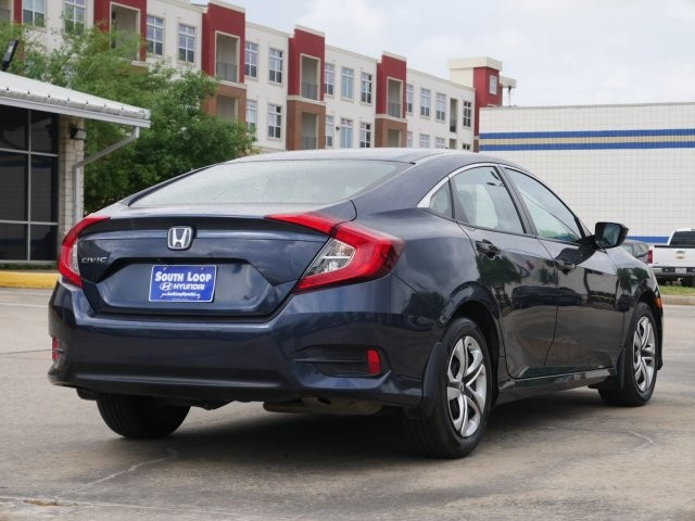 Pre Owned 2017 Honda Civic Sedan Lx Por Model Grat Car Great Gas Mileage Price In Houston He075962 Sterling Mccall
