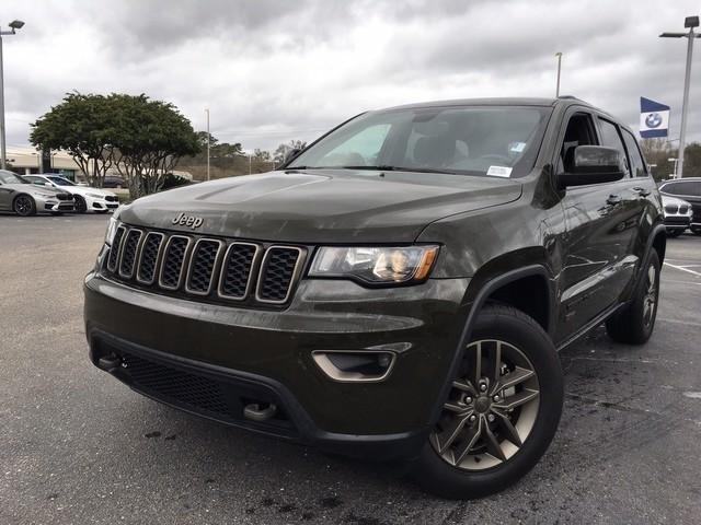 Pre-Owned 2017 Jeep Grand Cherokee 75th Anniversary Edition