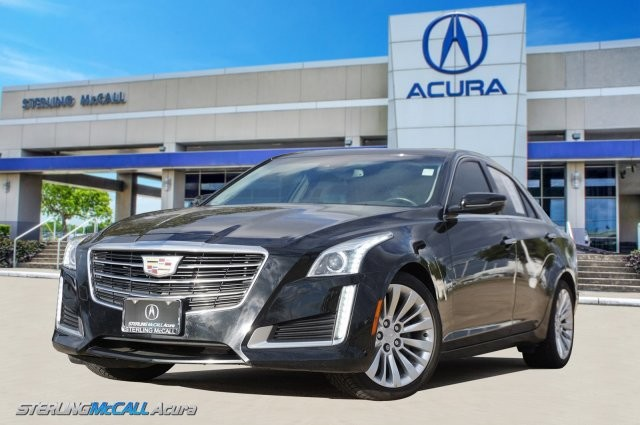 Pre Owned 2016 Cadillac Cts Sedan Luxury Collection Rwd