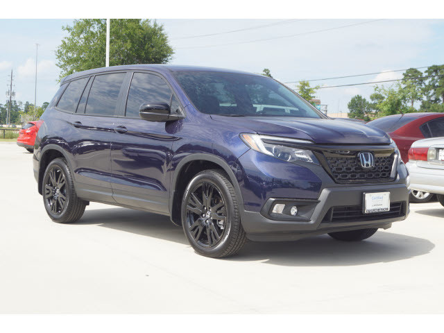 Pre-Owned 2019 Honda Passport Sport ***CPO, BLUETOOTH AND BACKUP CAMERA***
