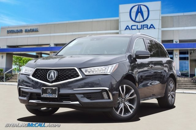 Sterling Mccall Acura >> New 2019 Acura Mdx With Advance Package Suv In Houston Kl007314
