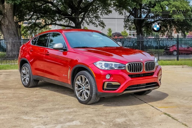 Pre-Owned 2017 BMW X6 xDrive35i AWD DR ASSIST NAV 20 WHLS SUV