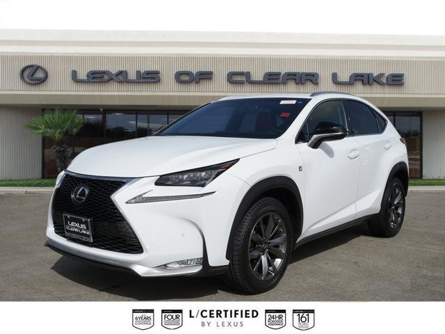 Lexus Nx 200T F Sport >> Pre Owned 2016 Lexus Nx 200t F Sport Navigation Suv In Houston