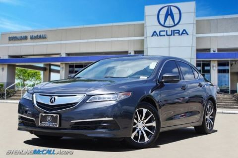 Pre-Owned 2016 Acura TLX 1-Owner, Leather, Sunroof, Bluetooth