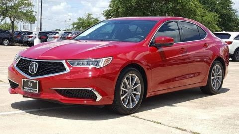Certified Pre-Owned 2018 Acura TLX 2.4 8-DCT P-AWS with Technology Package