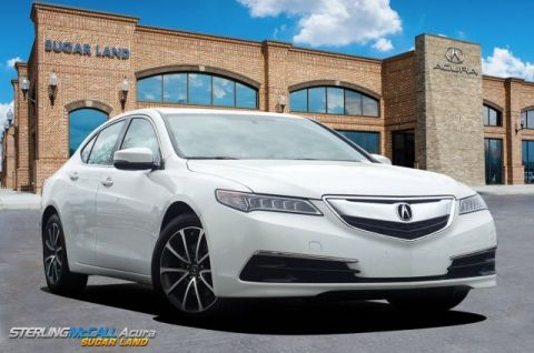 Pre-Owned 2017 Acura TLX V6 *** BLIND SPOT***