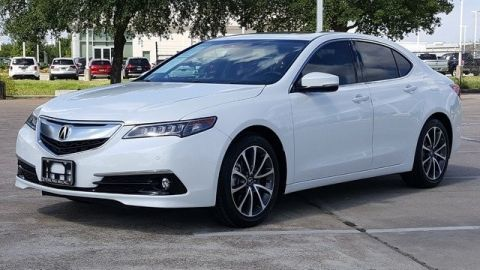 Certified Pre-Owned 2017 Acura TLX 3.5 V-6 9-AT P-AWS with Advance Package