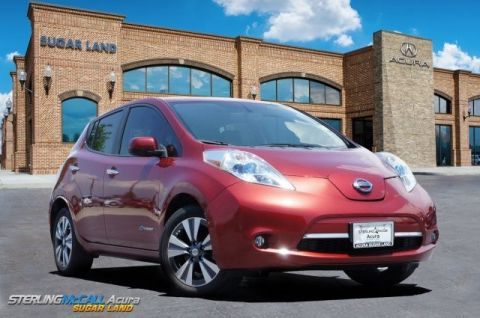 Pre-Owned 2015 Nissan LEAF SL *** NAVIGATION ***