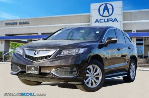 Pre-Owned 2017 Acura RDX w/Technology Pkg * NAV, Leather Sunroof *