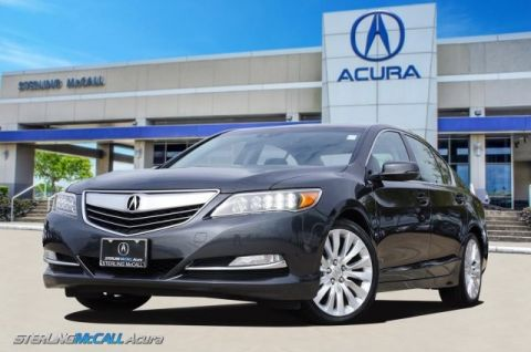 Pre-Owned 2014 Acura RLX Tech Pkg 1-Owner * Pwr Sunroof, Navigation, Heated Leather Seats *