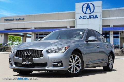 Pre-Owned 2015 INFINITI Q50 Premium AWD 1-Owner, 31K Miles * Leather, Sunroof, Bluetooth *