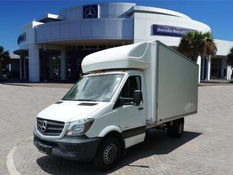 Pre-Owned 2016 Mercedes-Benz Sprinter Chassis Cab Box Van